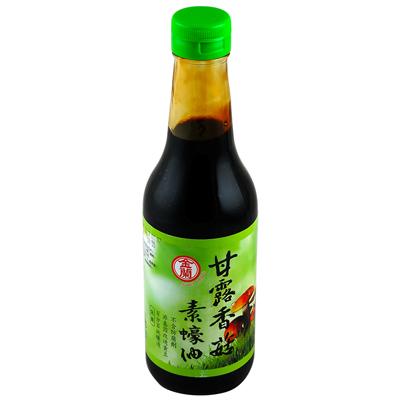 金兰甘露香菇素蠔油(非基因改造)(500ml/罐)