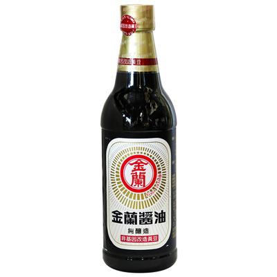 金蘭醬油(非基因改造)(590ml/罐)