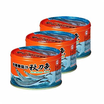 蕃茄汁秋刀魚(3入裝)(220g/罐)