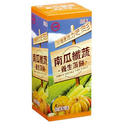南瓜纖蔬養生薄餅(120g/盒)