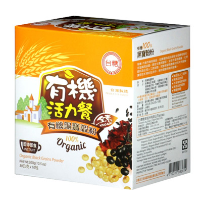 台糖有機黑寶穀粉(30g*10包/盒)
