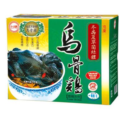 台糖冬蟲夏草菌絲體烏骨雞(2.2kg/盒)