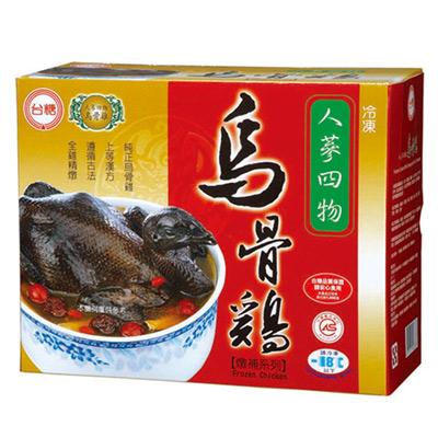 人蔘四物烏骨雞(2.2kg/盒)