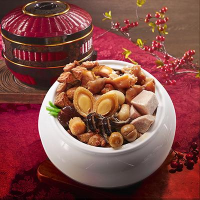 碗碟筷香鮑魚干貝佛跳牆(1465g±30g/盒)