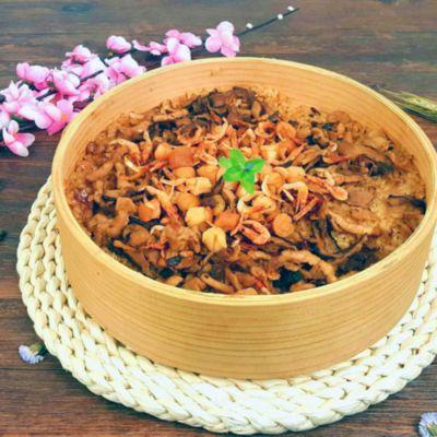櫻花蝦干貝米糕(600g/盒)