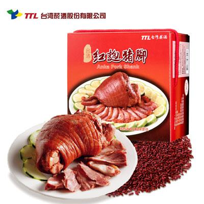 台酒紅麴豬腳(650g/包)