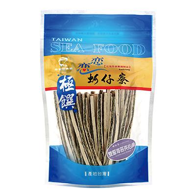 梓官漁會極饌雙層海苔夾心絲(130g/袋)