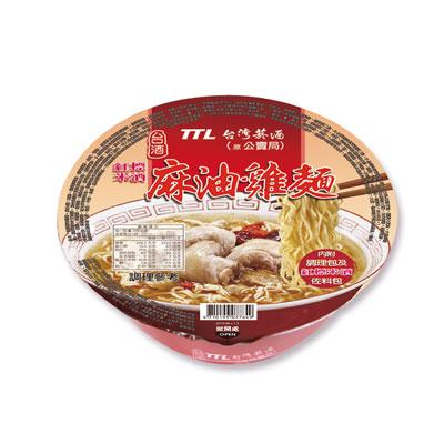 台酒台酒紅標米酒麻油雞麵-碗麵(200g/碗)