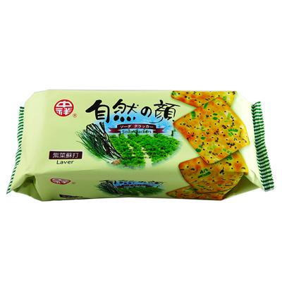 中祥自然の顏紫菜蘇打(140g/包)