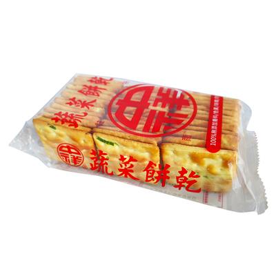中祥中祥蔬菜餅乾透明包裝(140g/包)