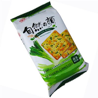 中祥自然の顏獨享包-蔬菜蘇打餅(80g/包)