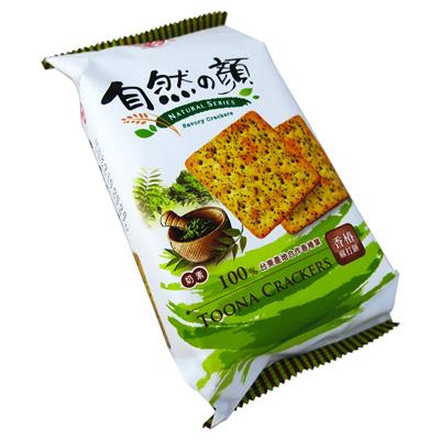 中祥自然の顏獨享包-香椿蘇打餅(75g/包)