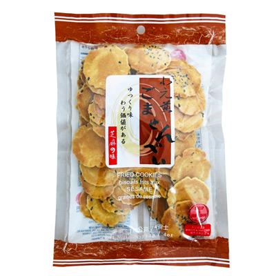 九福九福小元煎餅-芝麻(114g/包)