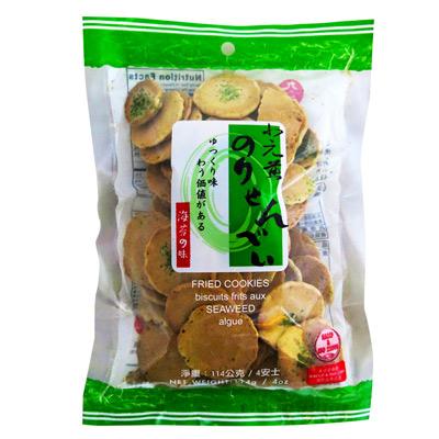 九福九福小元煎餅-海苔(114g/包)