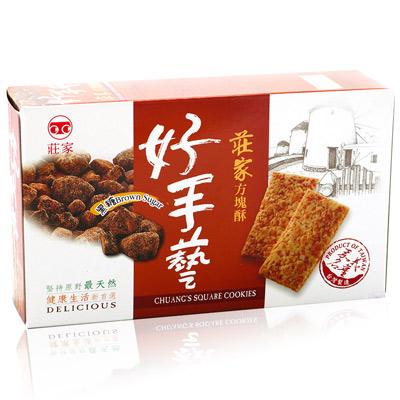 莊家莊家好手藝黑糖方塊酥(170g/盒)