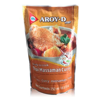 即食馬沙曼咖哩醬(250ml/包)
