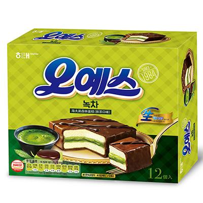 黑森林蛋糕-抹茶口味(12入-336g/盒)