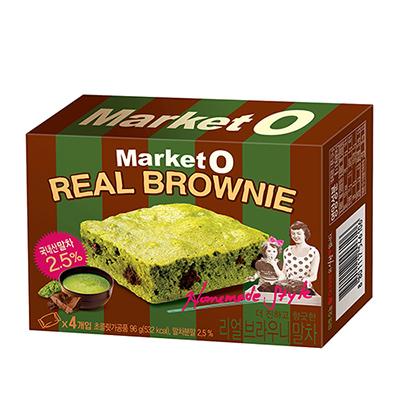 布朗尼蛋糕-抹茶風味(4入-96g/盒)