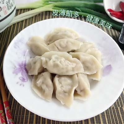 韭菜冷凍水餃1900g±5%/包(約100粒)