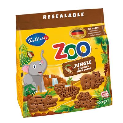 動物造型餅乾-巧克力口味(100g/包)