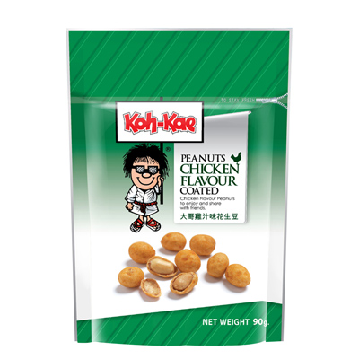 大哥雞汁味花生豆(90g/包)
