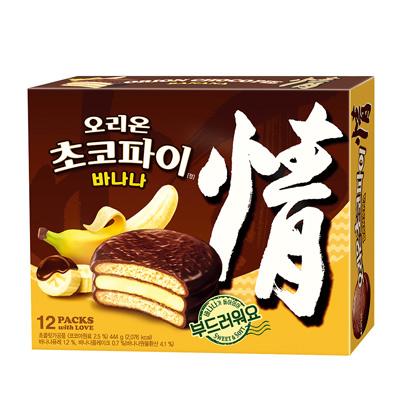 情‧香蕉巧克力派(444g/盒)