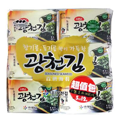 百济海苔(5g*12入/包)