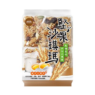 堅果黑糖沙琪瑪(320g±5%/包)