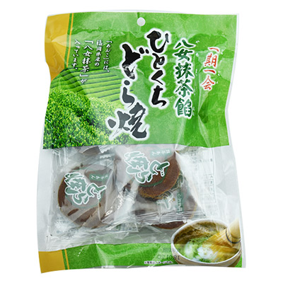 一榮福岡八女抹茶銅鑼燒(138g/包)