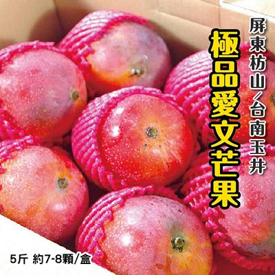 極品愛文芒果(5斤/盒)