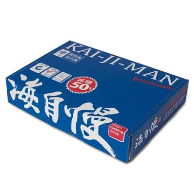 秋刀魚一夜干-海水藍色箱(19片*110g/盒)