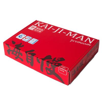 旭日紅色一夜干綜合箱(秋刀魚6片+竹筴魚6片/盒)