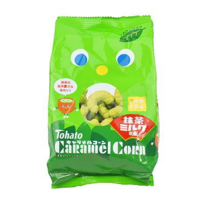 焦糖玉米脆果-抹茶牛奶(77g/包)
