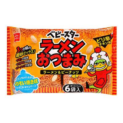 花生點心麵-辣味雞汁(150g/包,共6袋)