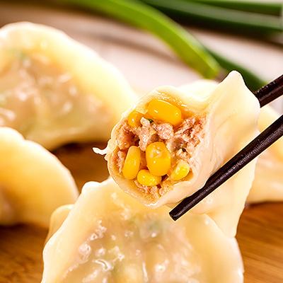 豚肉玉米水餃(15顆-450g/包)