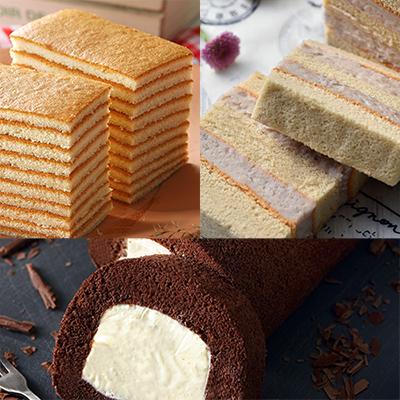 超人氣蛋糕三口組
