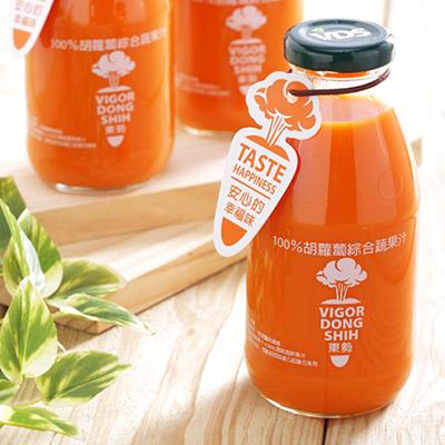 100%胡蘿蔔綜合蔬果汁(290ml*24/瓶)