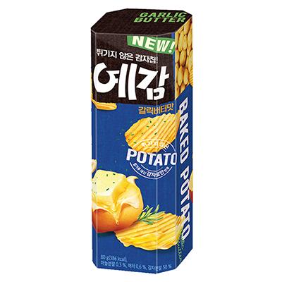 烘焙洋芋片-香蒜奶油味(80g/盒)