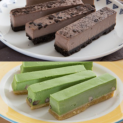 香榭大道乳酪條-巧克力+抹茶紅豆