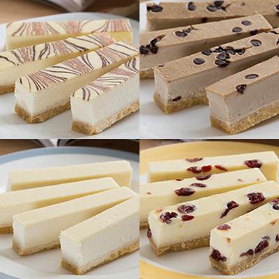 香榭大道乳酪條-原味+咖啡+檸檬+蔓越莓