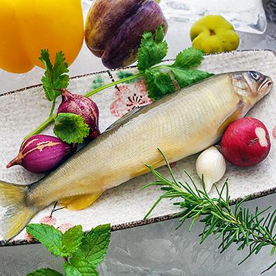 特大鮮甜爆卵香魚(170g±10%/包)