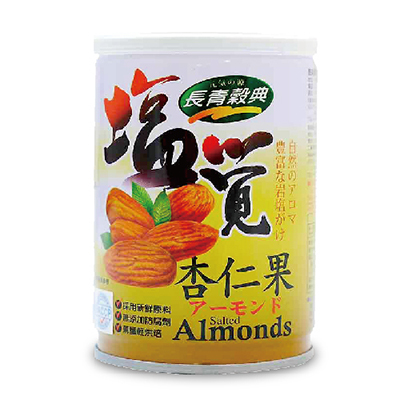 盐觉杏仁果(80g/罐)
