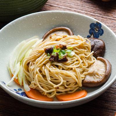 乾拌麵系列-油蔥香菇口味-五辛素(98g*4/袋)