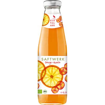 有機櫻桃柳橙汁(500ml/瓶)