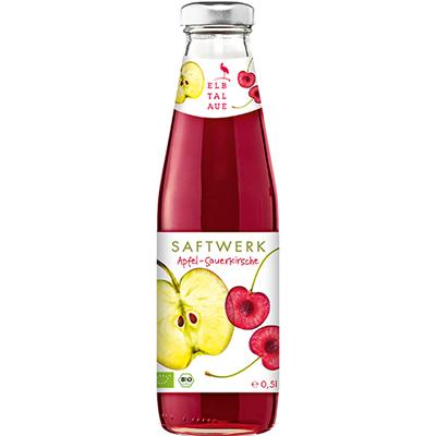 有機酸櫻桃蘋果汁(500ml/瓶)