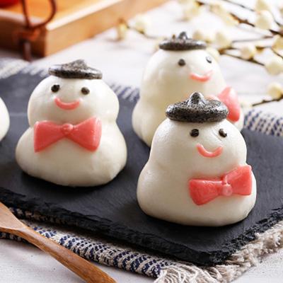 雪人甜包-地瓜餡(60g*10粒/包)