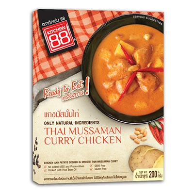 泰式瑪斯曼咖哩雞即食包(200g/盒)