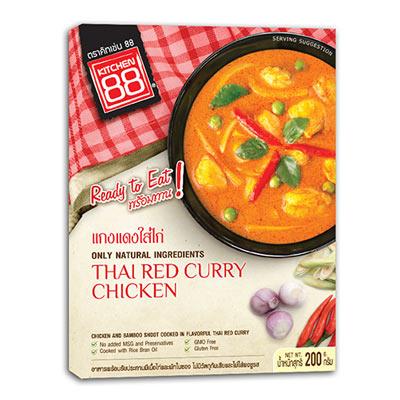 泰式紅咖哩雞即食包(200g/盒)