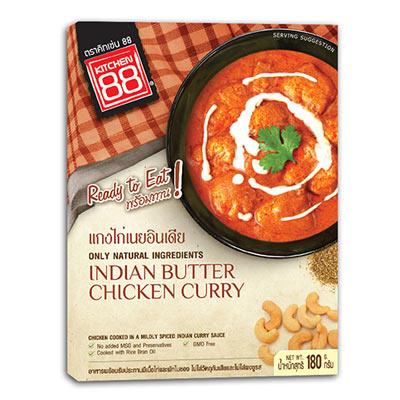 印度奶香雞肉咖哩即食包(180g/盒)