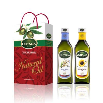 玄米油+葵花油雙入禮盒(500ml*2入/組)